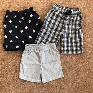 Lot of 3 toddler boy shorts